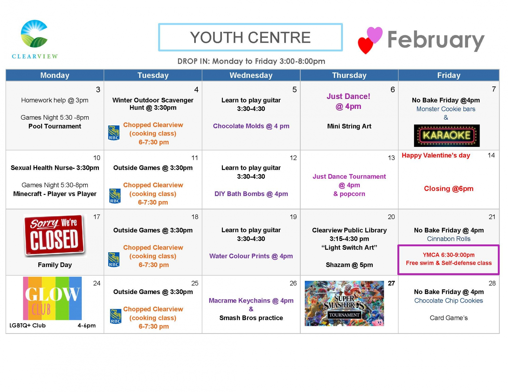 Youth Centre - February 2020