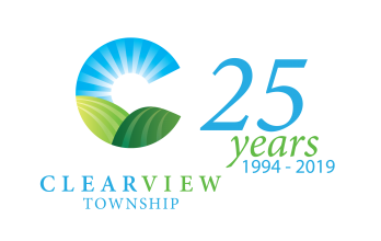 Clearview Township 25th Anniversary Logo