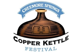 Creemore Springs Copper Kettle Festival logo